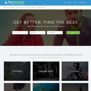 Teacher Directory Web Design