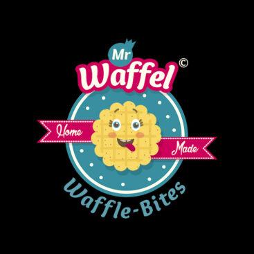 Logo Design Mallorca Waffle Shop